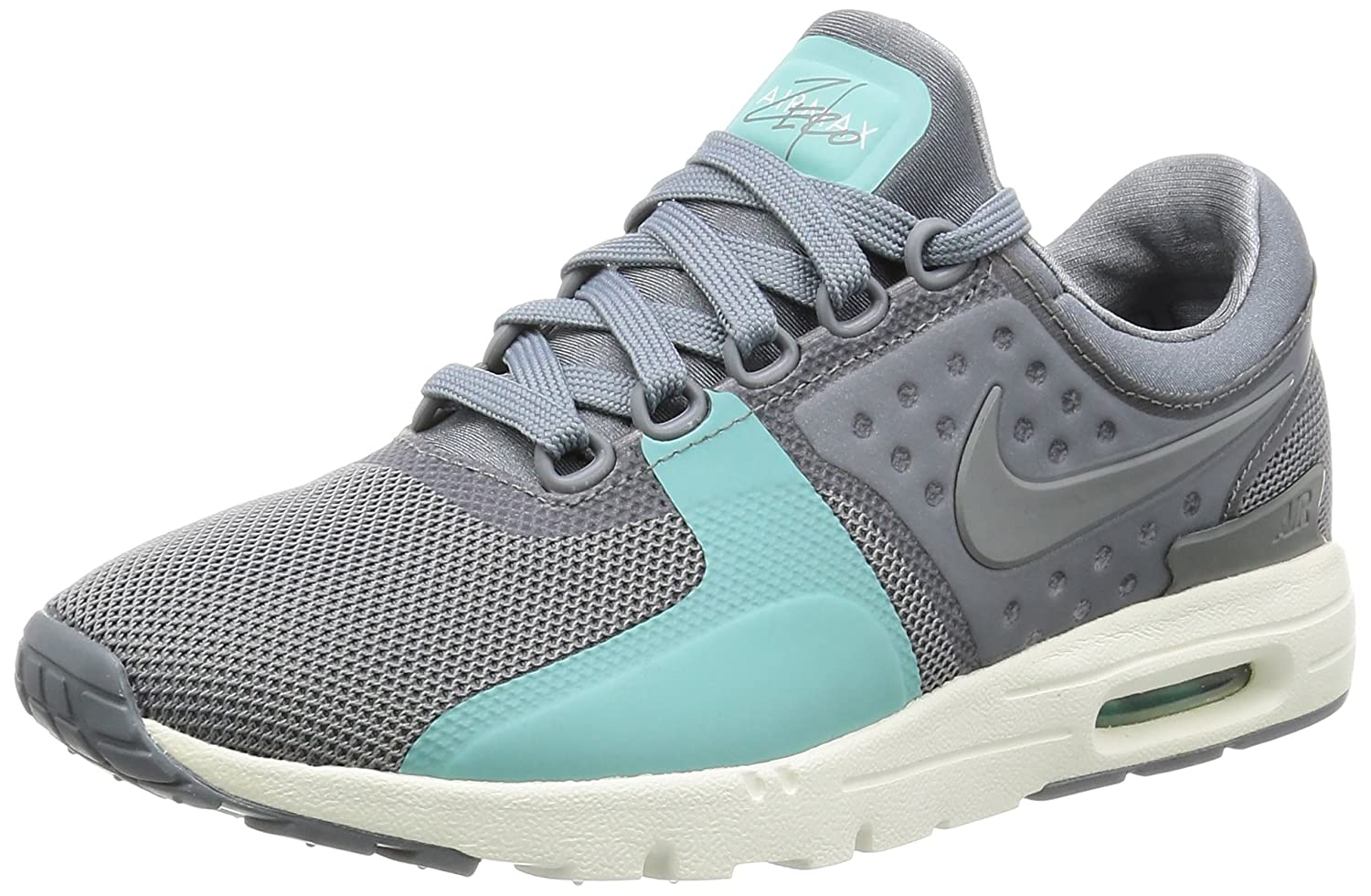 NIKE Women's Air Max Zero Running Shoe B01M7PENTT 7 B(M) US|Cool Grey/Sail/Washed Teal