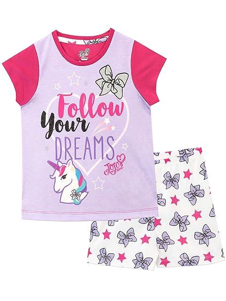 ffac3e732e77 JoJo Siwa Girls Jo Jo Pyjamas: Amazon.co.uk: Clothing