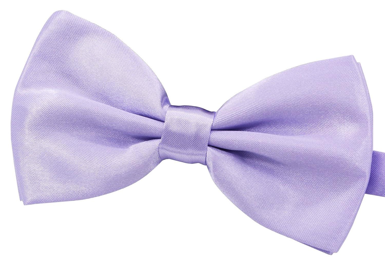 Lavender Amajiji Formal Dog Bow Ties for Medium & Large Dogs (D113 100% Polyester) (Lavender)