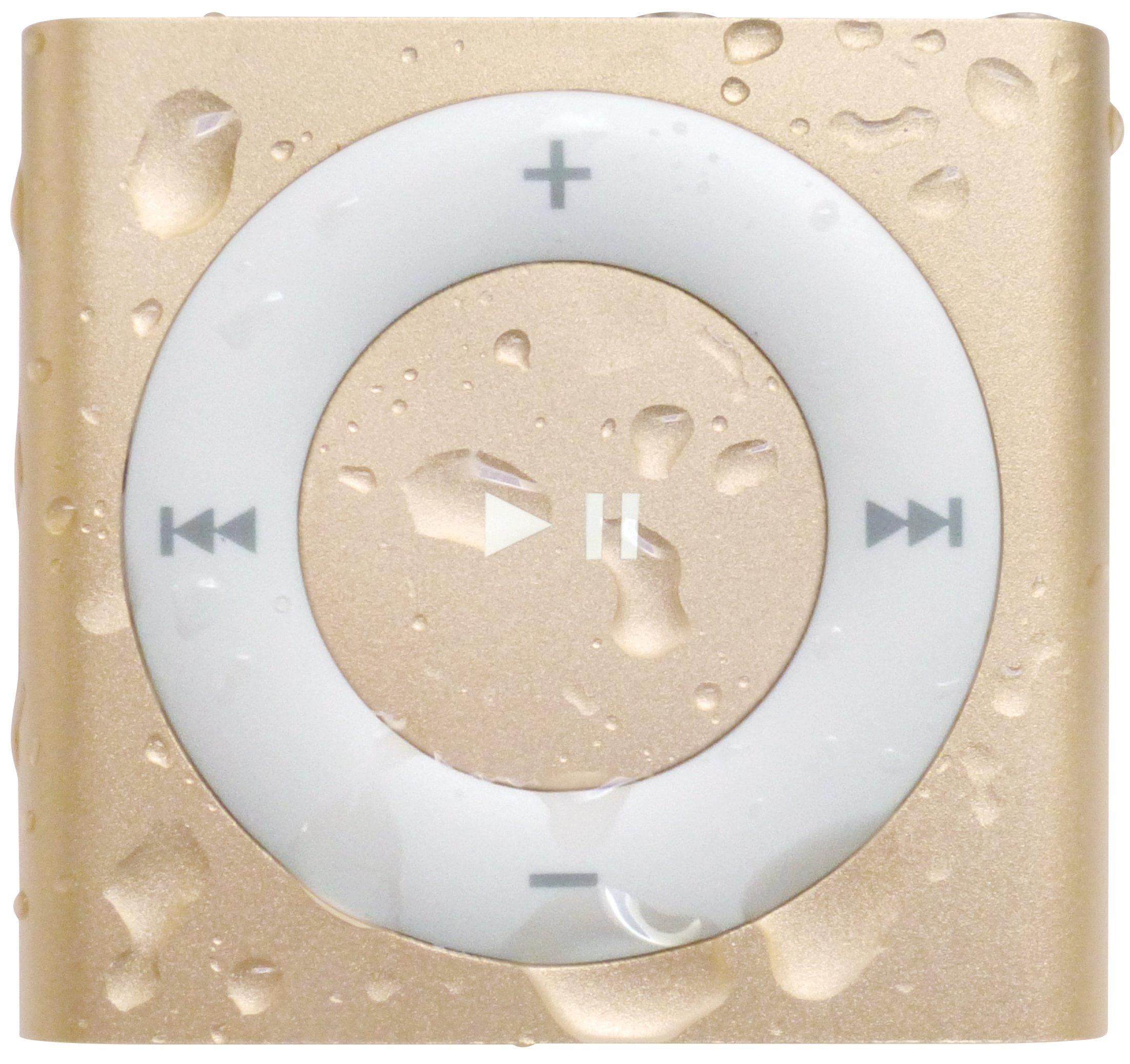 Underwater Audio 100% Waterproofing Compatible with iPod Shuffle, Swimbuds Sport Headphones, AquaGuard, and iFloatie (Gold) by Underwater Audio (Image #3)