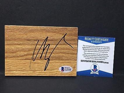 39ac7130b Mike Conley Jr. Signed Floorboard  Memphis Grizzlies Basketball Beckett  E19146 - Beckett Authentication