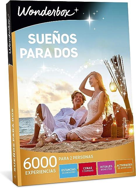 WONDERBOX Caja Regalo para Dos - SUEÑOS para Dos - 6.000 ...