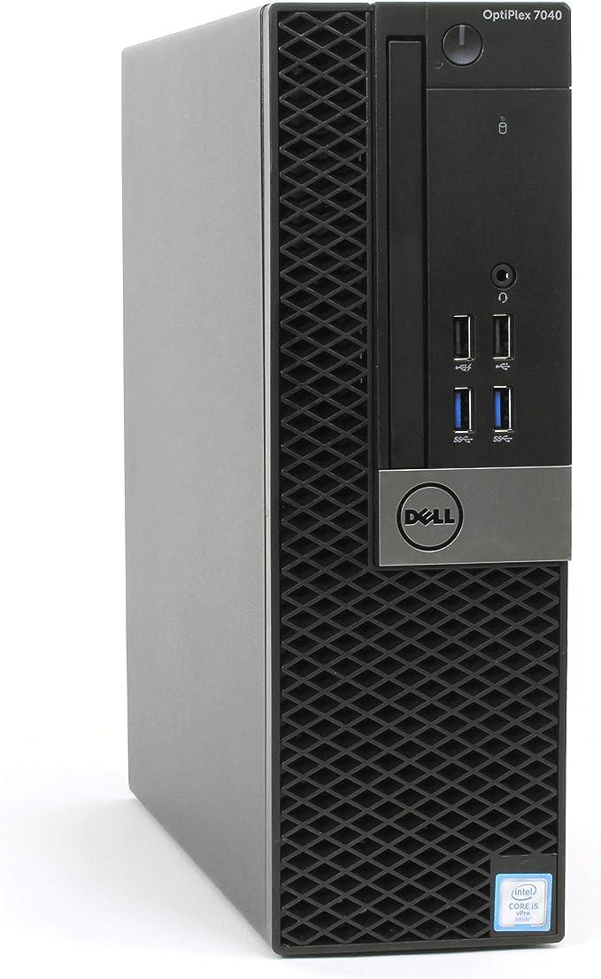 Dell Optiplex 7040 Small Form Desktop, Intel Quad Core i5 6500 3.2Ghz, 32GB DDR4, 512GB SSD Hard Drive, HDMI, Windows 10 Pro (Renewed) | Amazon