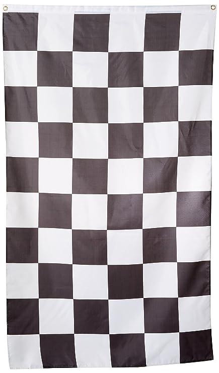 Racing Checkered Flag >> Amazon Com Checkered Flag 3x5 3 X 5 Brand New Racing Black White