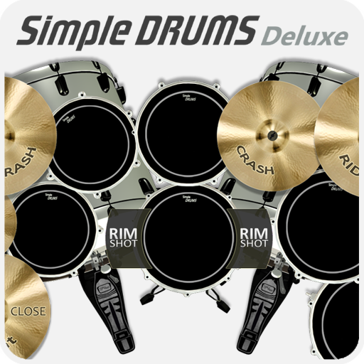 Simple Drums Deluxe - Drum set Deluxe Percussion Set