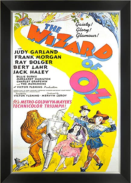 The wizard of Oz Judy Garland #1 movie poster print