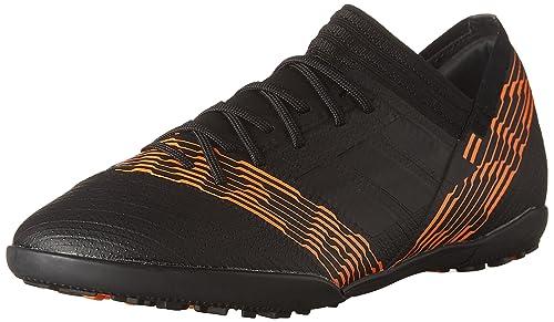 bba4bbb34 adidas Boys' NEMEZIZ Tango 17.3 Turf Soccer Shoes, Core Black/Core Black/
