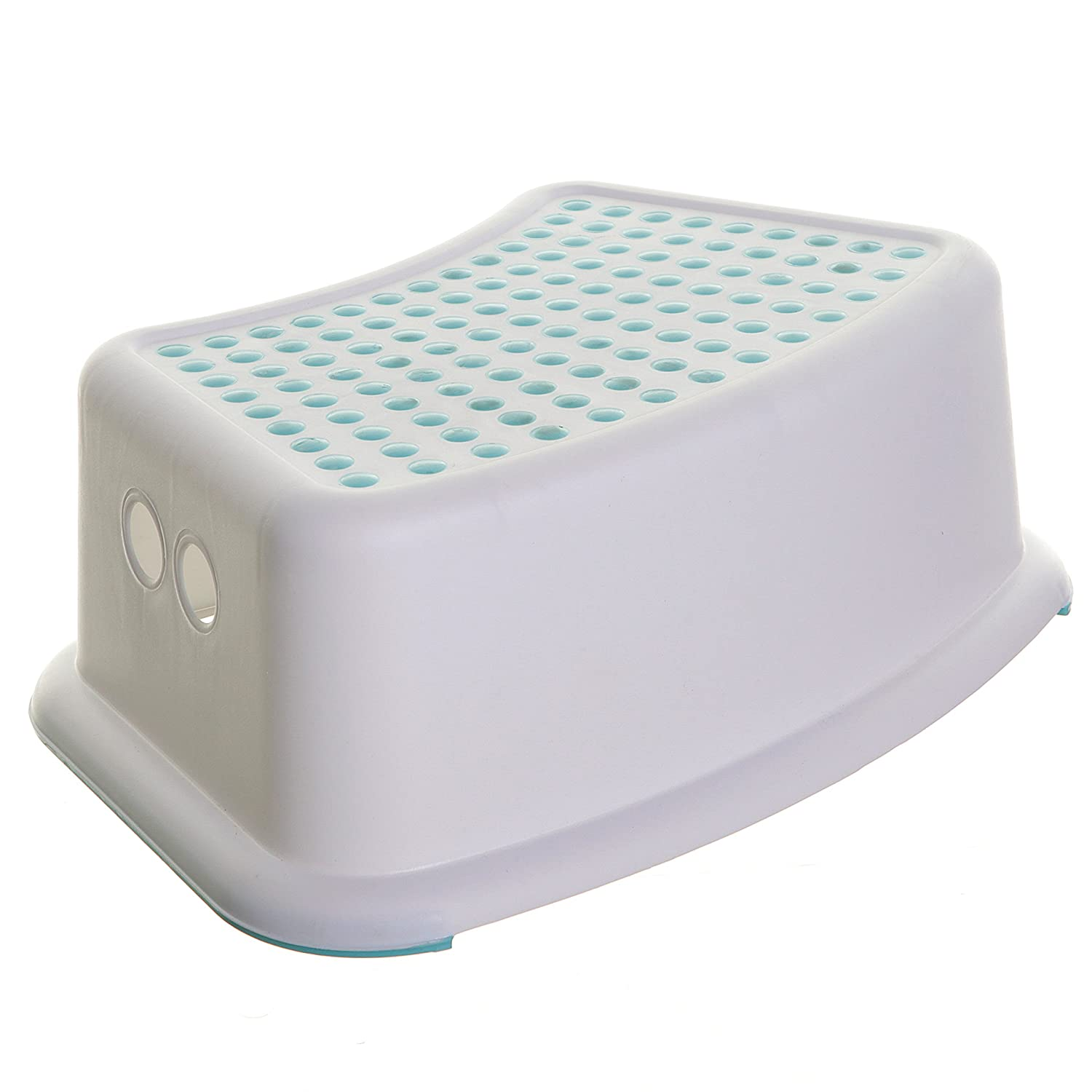 Dreambaby Step Stool , White/Aqua Dreambaby® F672