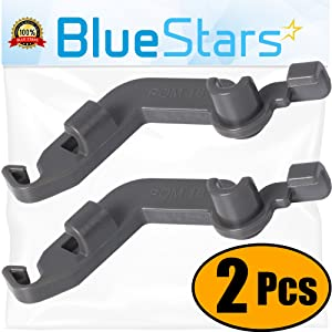 Ultra Durable W10082853 Dishwasher Tine Pivot Clip Replacement Part by Blue Stars- Exact Fit for Whirlpool Kenmore Kitchenaid Dishwasher- Replaces WPW10082853VP PS11748190- PACK OF 2