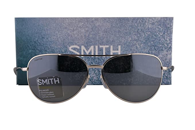 99b3e6082bce8 Image Unavailable. Image not available for. Colour  Smith Rockford Slim  Sunglasses Silver ...