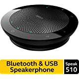 Jabra Speak 510 Wireless Bluetooth Speaker for Softphone and Mobile Phone – Easy Setup