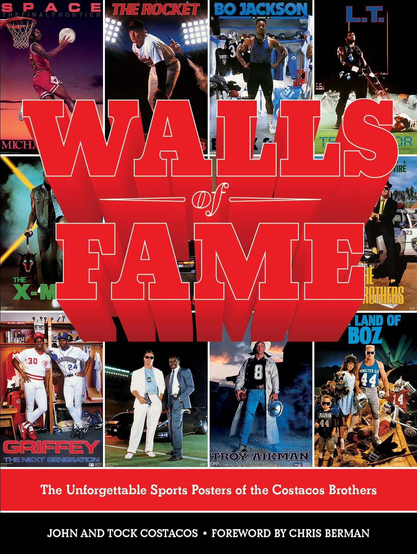 Walls Of Fame  The Unforgettable Sports Posters Of The Costacos Brothers