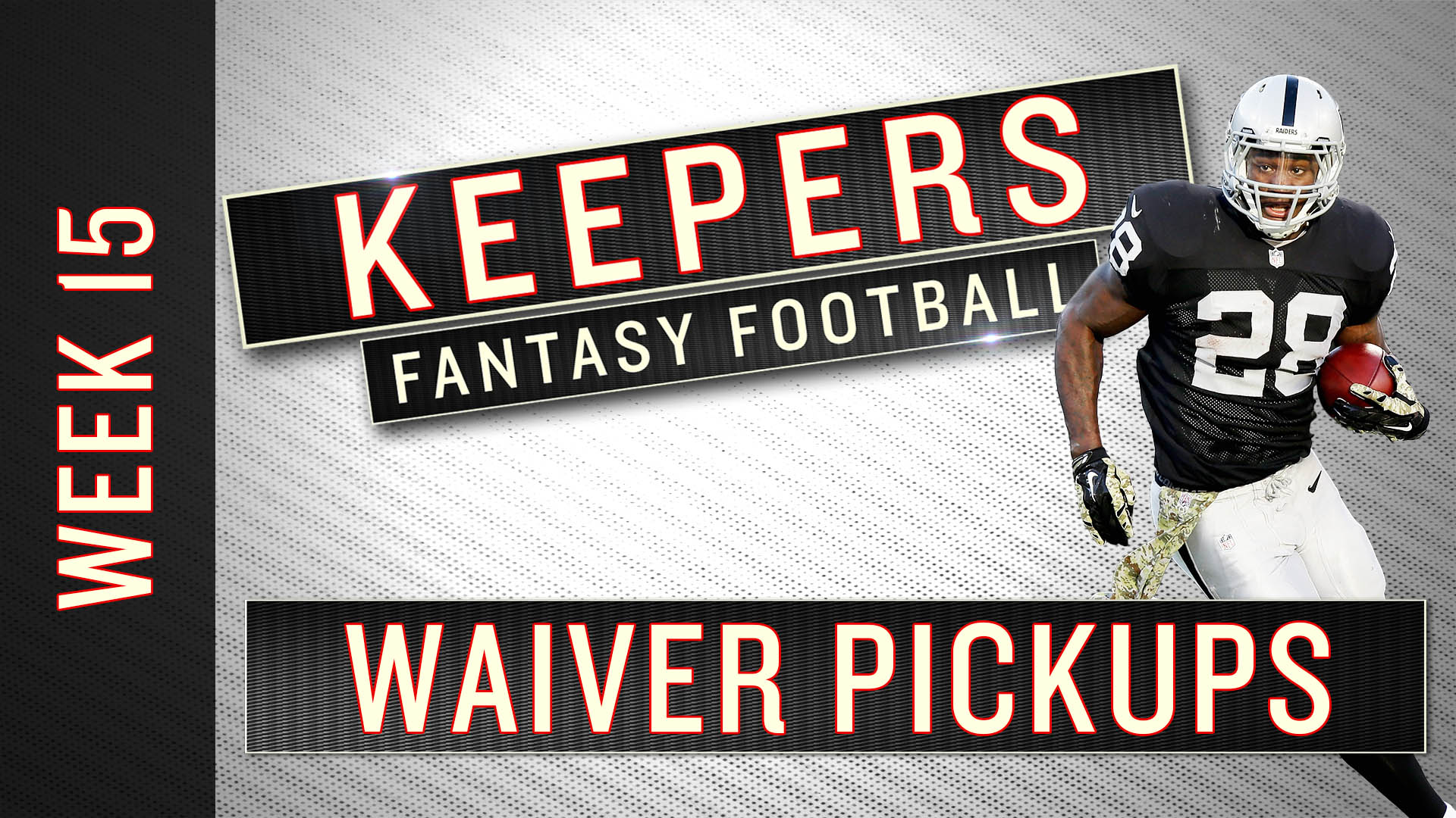 Fantasy waiver wire: Top 5 pickups for Week 15