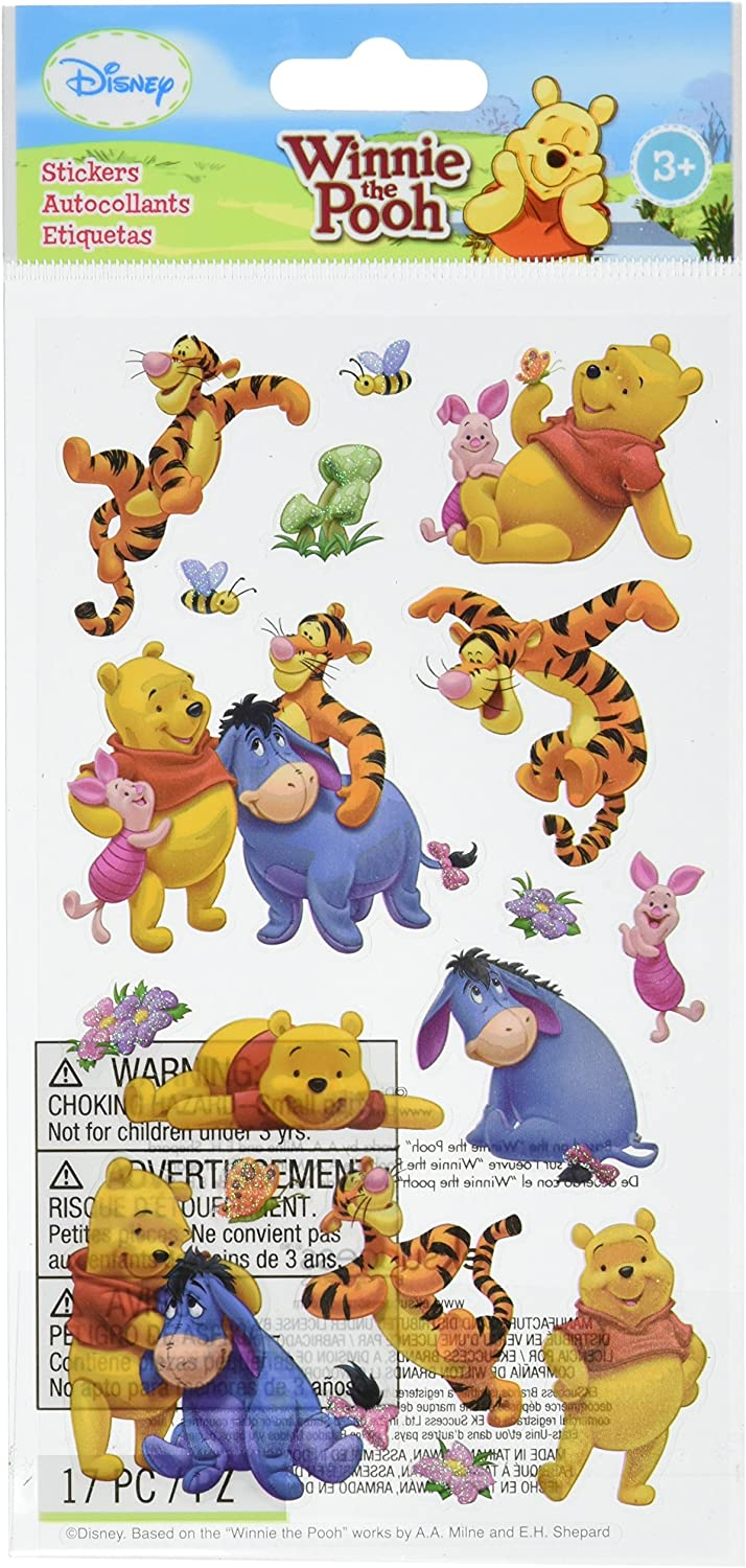 Large Winnie the Pooh Child Kids Friends Classic Coloured Print Disney Love You