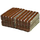 HARZOLE Tire String Plug TS-46020 Tire Plug for tubeless ¢6 4inch Brown 100mm 100 pcs