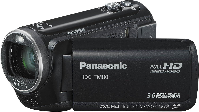 Panasonic Hdc Tm80eg9k Full Hd Camcorder 2 6 Zoll Kamera