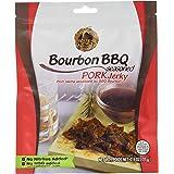 Golden Nest Naturally Seasoned Pork Jerky, no MSG or Artificial Ingredients, Bourbon BBQ, 71 Grams