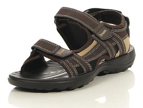 Herren Sommer Sandalen leichte Wanderschuhe für Outdoor und Sport Offroad Klettverschluss Männer Sandale 3