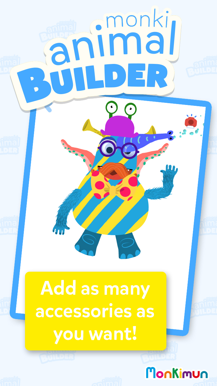 Free App of the Day is Monki Animal Builder