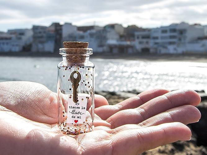 Mensaje en una botella. Miniaturas. Regalo