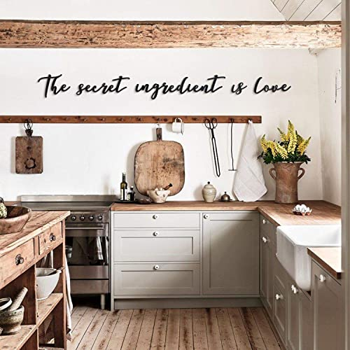 Hoagard Metal Wall Decoration| The Secret Ingredient Is Love