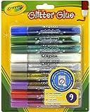 Crayola 9 Glitter Glue