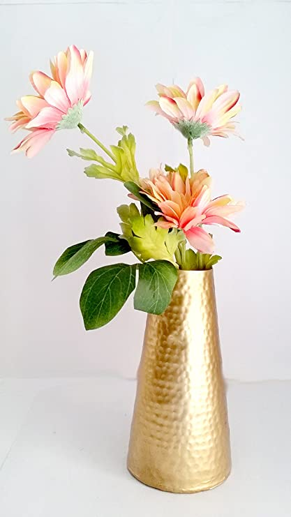 Buy Easy Trade Decoration Handmade Metal Flower Pot Vase for Home Decoration (Set of 1) Online at Low Prices in India - Amazon.in & Buy Easy Trade Decoration Handmade Metal Flower Pot Vase for Home ...