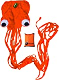 Octopus Kite by Little Rocket- Easy to Fly Kite. Perfect Kite for Kids! Childrens Kite that Flies Easily and Lovely Stocking Filler