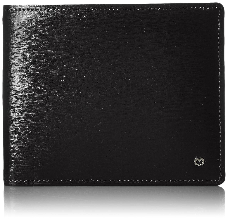 [ミラショーン] mila schon ファルテローナ二つ折りカード札入れ MSMW4HS1 10 (ブラック) B01GJ9KPNC  ブラック
