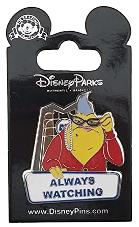 Disney Pin - Monsters Inc  - Roz - Always Watching