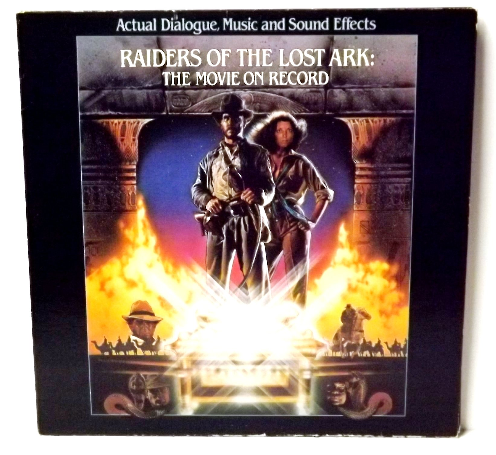 Raiders of the Lost Ark : The Movie on Record : Actual Dialogue , Music & Sound Effects by Columbia