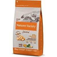Nature's Variety Selected - Pienso para gatos esterilizados con pollo campero deshuesado 1,25 Kg