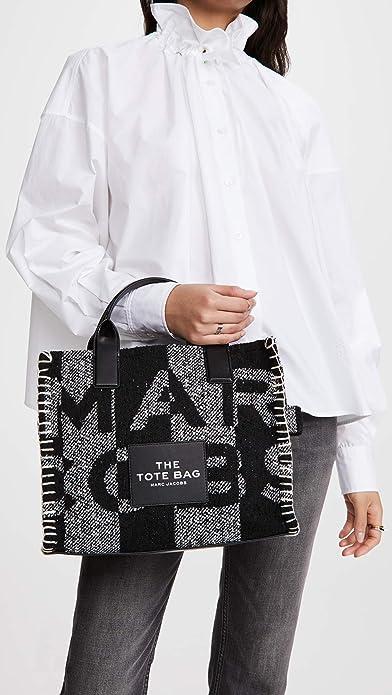 Amazon.com: The Marc Jacobs Women's Small Traveler Tote, Black ...