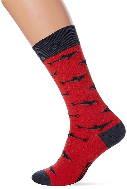Jimmy Lion Sharks, Calcetines para Hombre, Rojo (Red), 41-46: Amazon.es: Ropa y accesorios