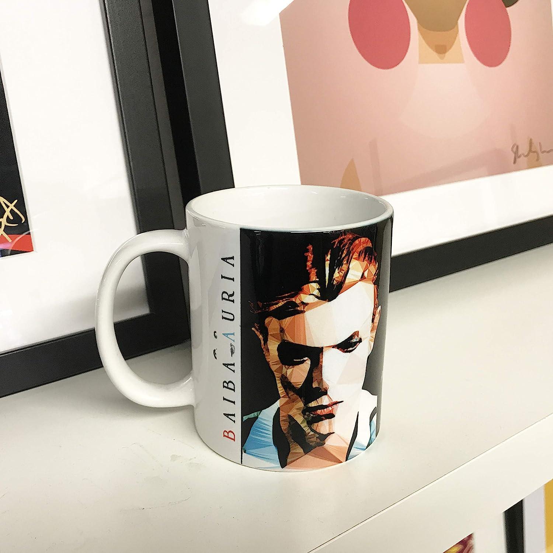 Bowie #4 by Baiba Auria 11oz Art Mug