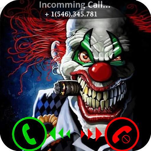 fake call from clown halloween prank 2018