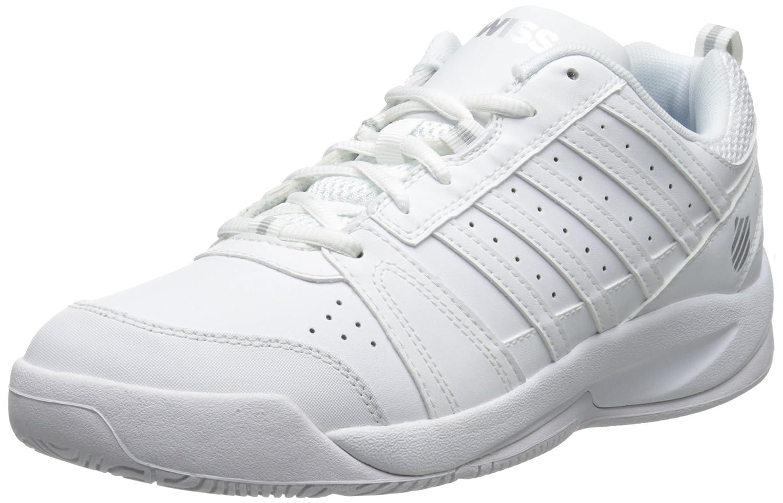 White Silver K-Swiss Women's Vendy Tennis shoes