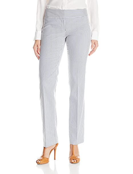 Amazon.com: Nine West traje rayas para mujer Pant: Clothing