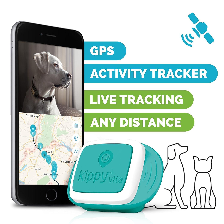 kippy vita gps und activity monitor f r hunde und katzen gps hundehalsband tracker g nstig. Black Bedroom Furniture Sets. Home Design Ideas