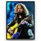 Mile High Media Chris Cornell Poster Fine Art Canvas Color Print - Soundgarden (17x22)
