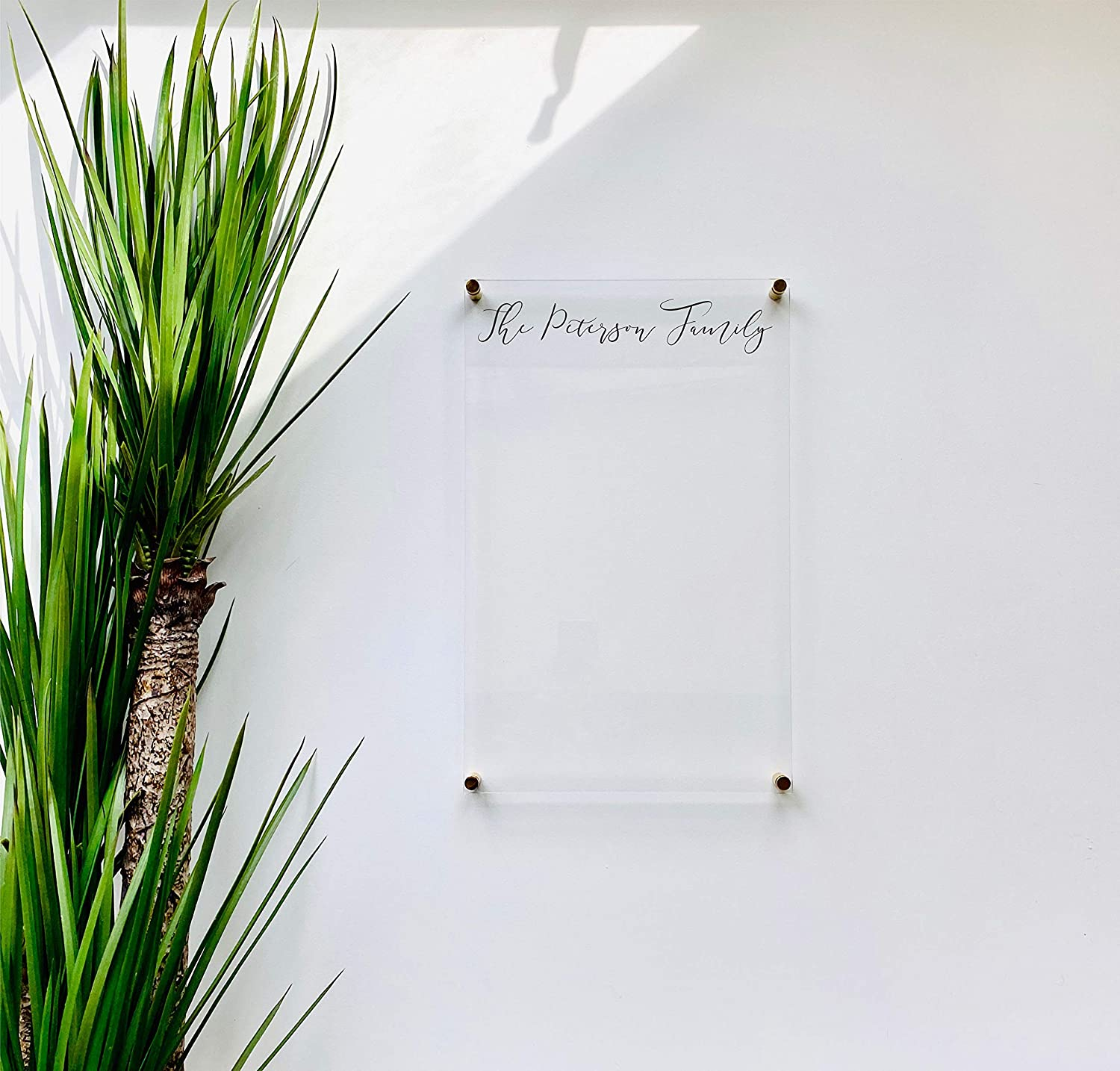 Personalized Acrylic Board For Wall