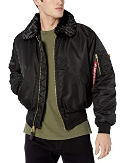 07b58b123 Amazon.com: Alpha Industries Men's CWU 45/P Flight Jacket: Clothing