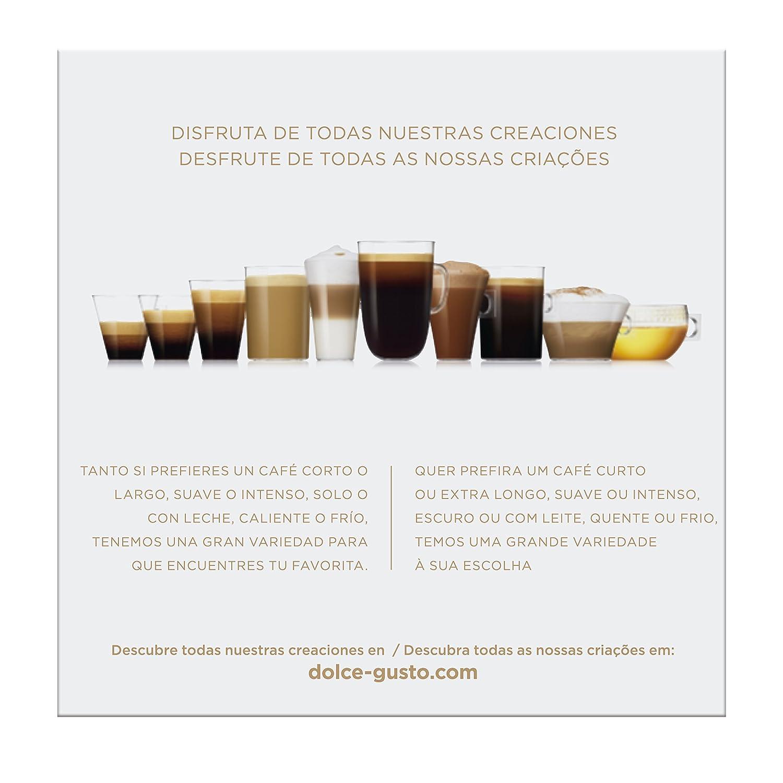 NESCAFÉ Dolce Gusto Café Cortado descafeinado | Pack de 16 Cápsulas: Amazon.es: Amazon Pantry