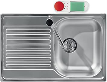 Red Guzzini My Kitchen Sink Tidy Caddy With Soap Dispenser 7 1 2 Inches Cleaning Supplies Cleaning Tools