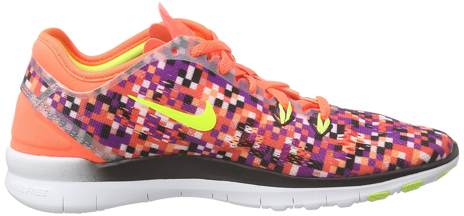 NIKE Women's Free 5.0 TR Fit 5 Training Shoe B016CY0KI4 6.5 B(M) US|Orange/Black/Volt
