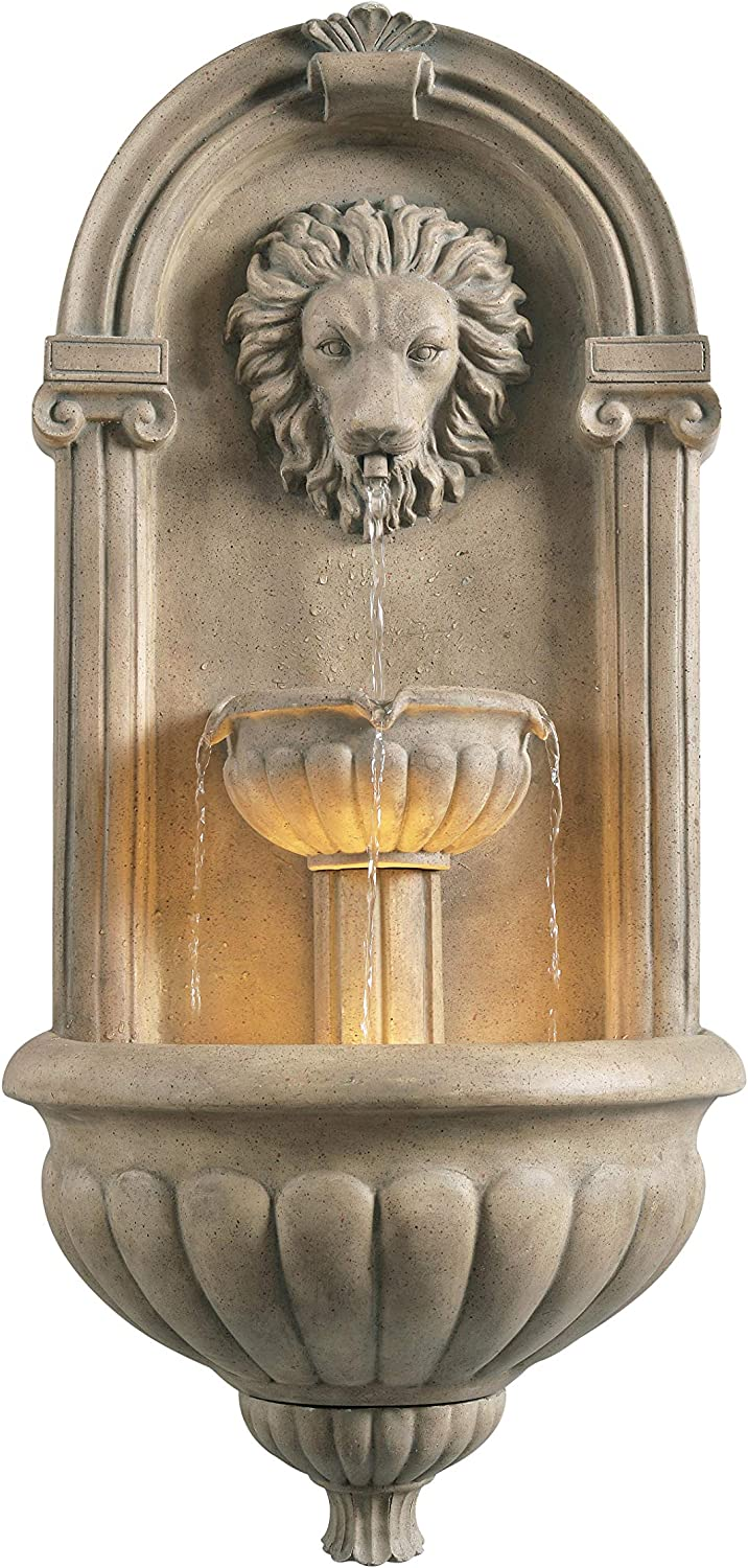 Kenroy Home 51043SNDST Royal Fountains, Sandstone Finish