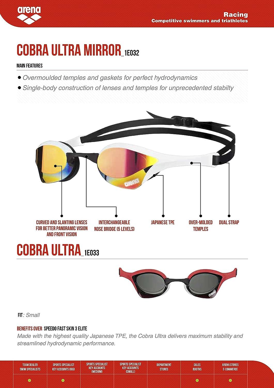 Amazon.com   arena Cobra Ultra Swim Goggles 69ffacccb6