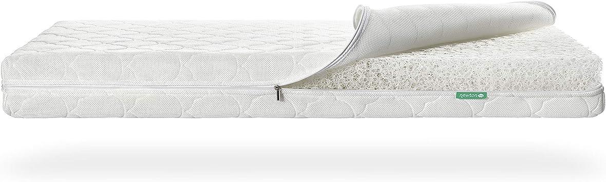 Cloud White Newton Breathable Crib Mattress Cover