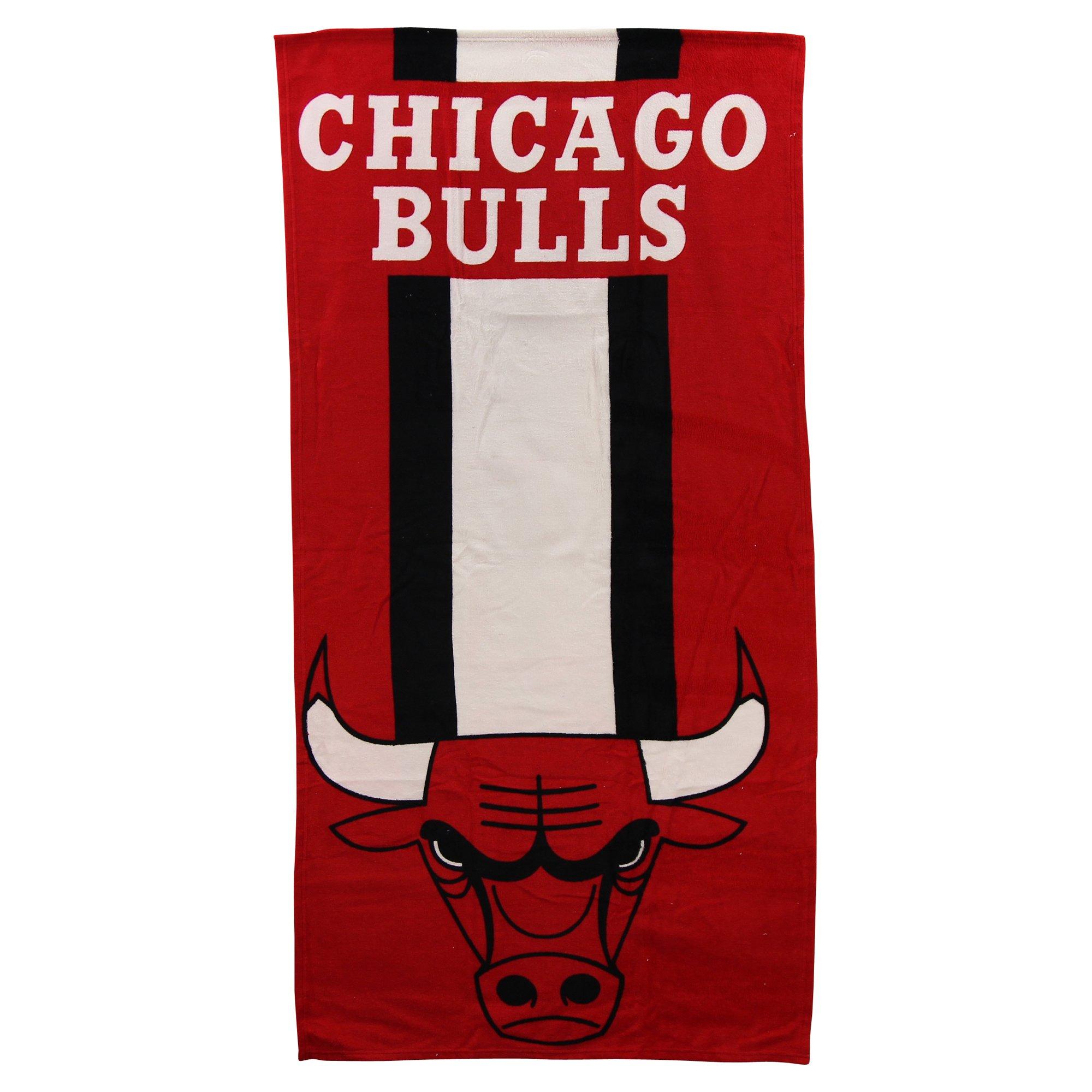 The Northwest Company NBA Zone Read Beach Towel 30'' x 60'' (Chicago Bulls)