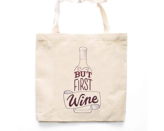 Bolsa de lona con bolsa de vino, bolsa de almacenamiento ...